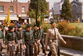 1972/3 - St Georges Day Parade, Wimborne