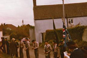 1978/9 - Remembrance Sunday Parade