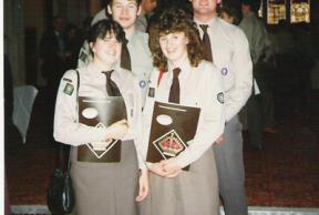1985 - Queen's Scout Awards at Guildhall, London