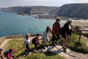Walking the Cornish cliffs
